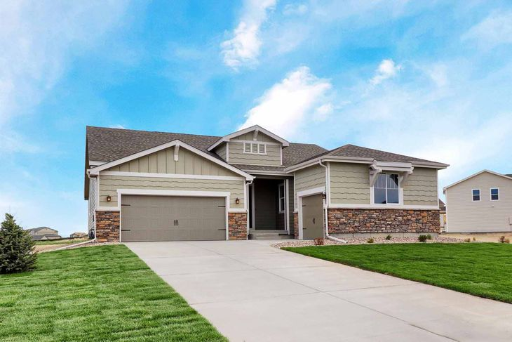 LGI Homes at Spring Valley Ranch:Stunning home with 3 car garage on oversized lot!