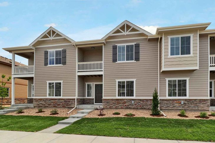 The Vail by LGI Homes:Over $10,000 in upgrades are included in this 3 bedroom townhome!