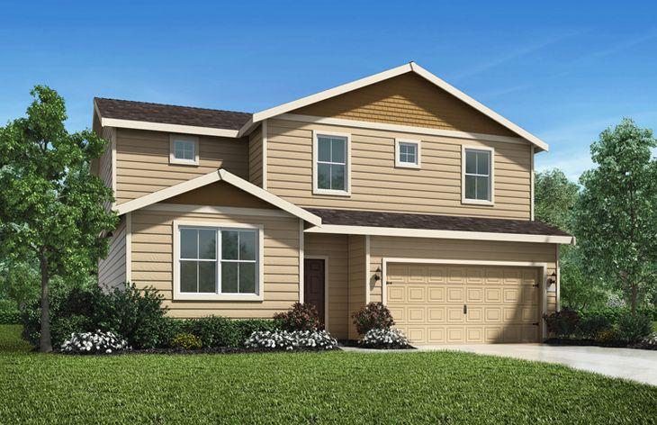The Henry Plan by LGI Homes:LGI Homes at Bear Creek