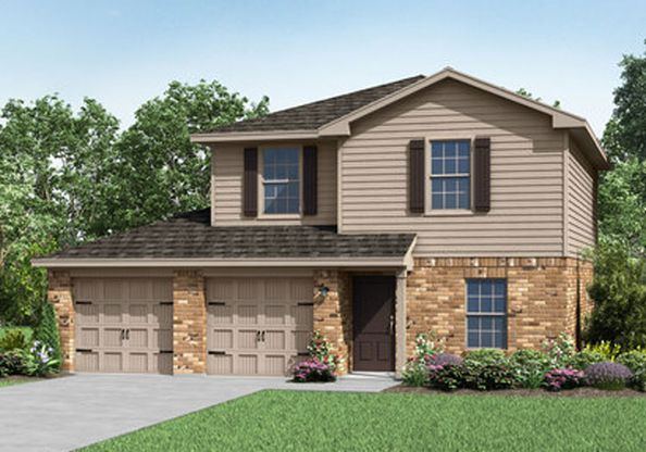 The Brazoria by LGI Homes:Beautiful 2 Story Home in Magnolia Springs