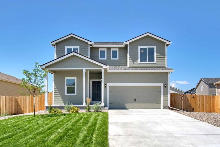 LGI Homes at Lorson Ranch:Stunning 4 bed/2.5 bath with over $10k in upgrades!