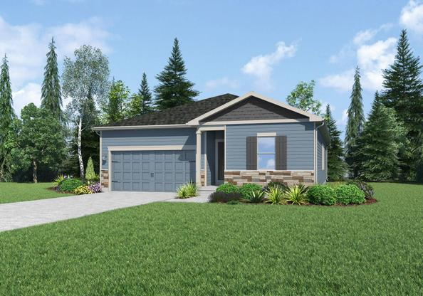 The Princeton by LGI Homes:Beautiful 3-Bedroom home with great curb appeal!