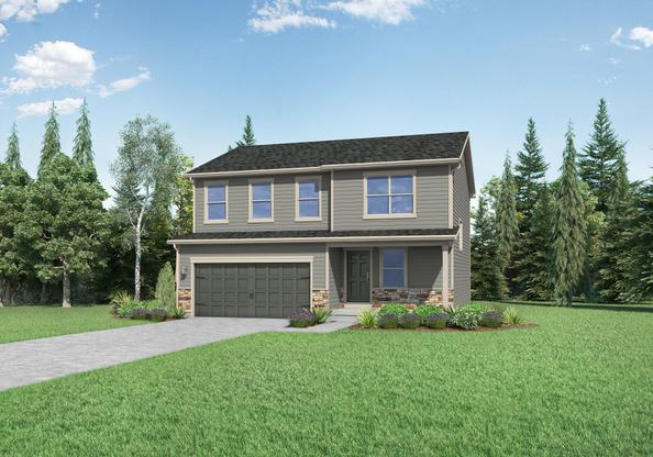 The Yale by LGI Homes:Beautiful 2-Story Home wtih ALL Kitchen Appliances Included