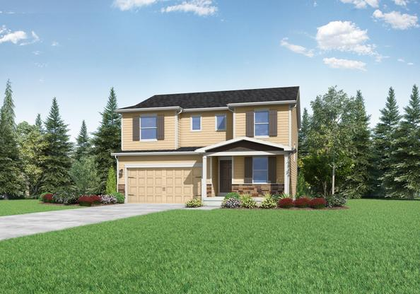 The Columbia by LGI Homes:This 4-Bedroom Beauty is What Dreams are Made of!