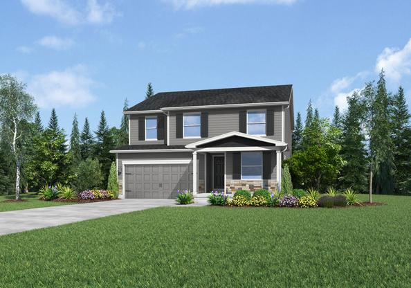 The Harvard by LGI Homes:Great Curb Appeal!