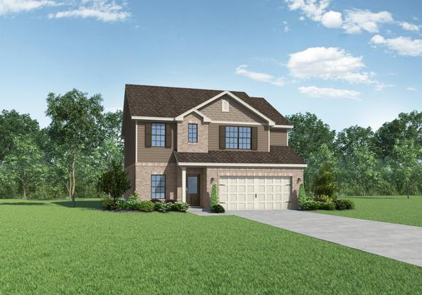 The Dillard by LGI Homes:Large 4-Bedroom Home with Walk-in Closets
