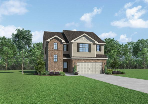 The Griffin by LGI Homes:Flex Room and Loft!