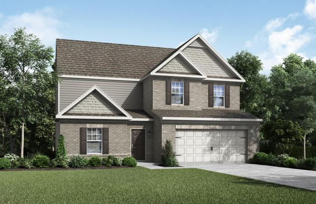 The Hartwell by LGI Homes:Beautiful 4-Bedroom home with great curb appeal!