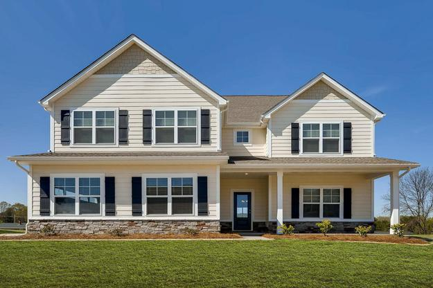 The Persimmon Plan:Gorgeous 5 bed/3.5 bath home with flex room!