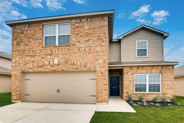 The Travis by LGI Homes:5-bedroom, 2.5 bath home located in the Preserve at Medina community.
