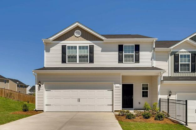 The Vance Plan:Spacious townhome loaded with upgrades