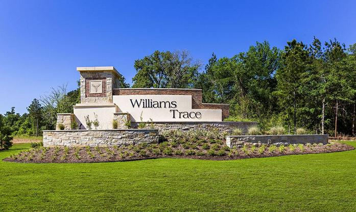 Williams Trace monument:LGI Homes at Williams Trace