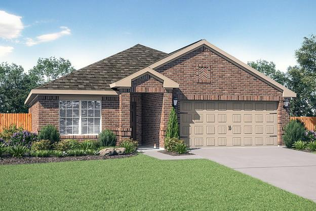 The Blanco by LGI Homes:Charming 3 bedroom, 2 full bath home!