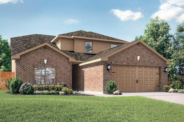 The Cypress by LGI Homes:Gorgeous two-story home with 4 bedroms and 2.5 baths!