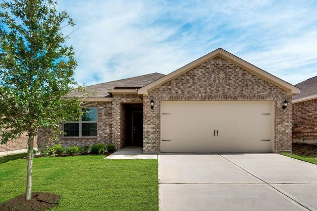 The Rio Grande by LGI Homes:The Rio Grande has 3 bedrooms, 2 baths and an attached 2-car garage!