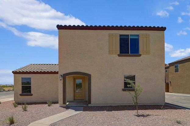 The Pima plan by LGI Homes:The Pima plan is a beautifully designed 2-story, 4 bedroom, 2.5 bath home located in Tuscano.