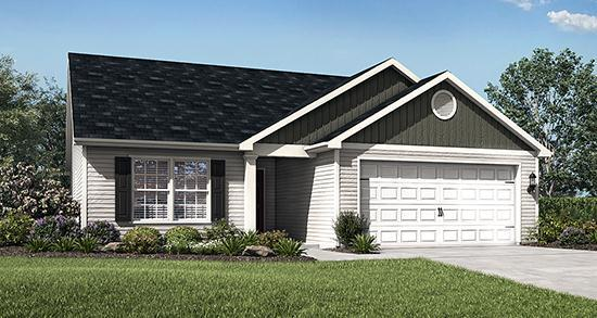 LGI Homes at Finlay Farms:A variety of move-in ready homes are available