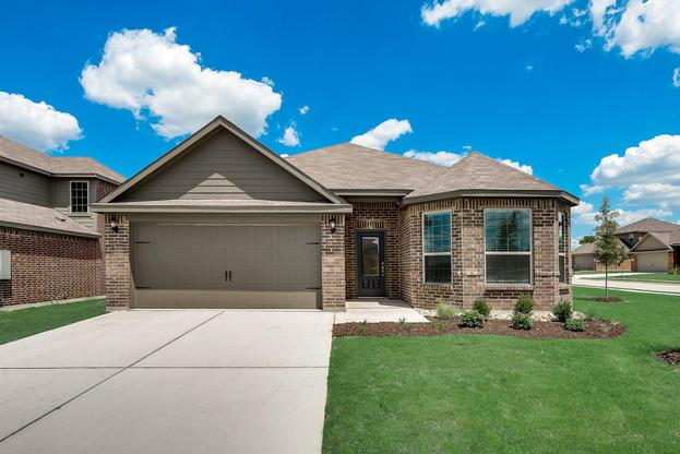 The Michigan Plan by LGI Homes:The Michigan is a charming single story home available at The Bridges!