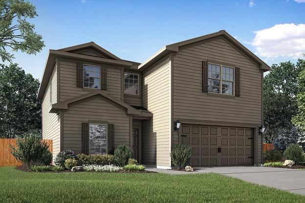 LGI Homes at Patriot Estates:The Driftwood Plan