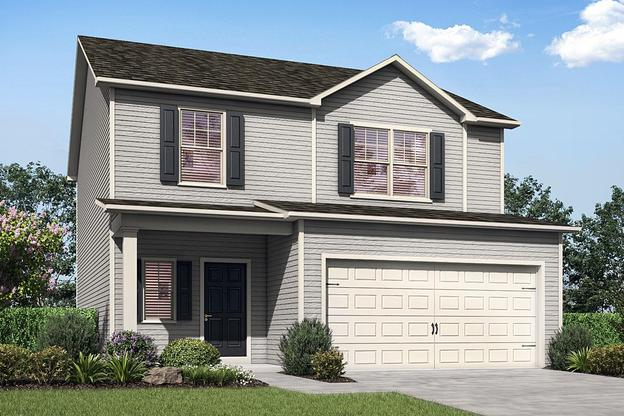 The Avery by LGI Homes:Great Curb Appeal!