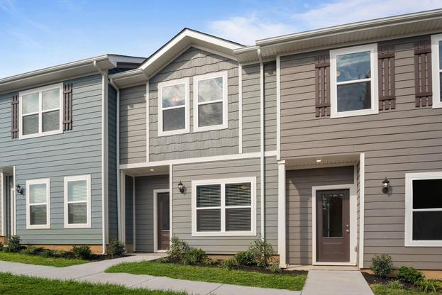 The Thomas Plan by LGI Homes:The Thomas is a gorgeous 3-bedroom townhome!