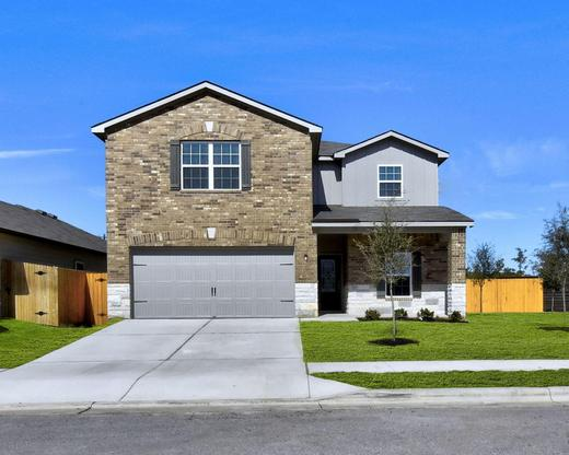 The Victoria Plan by LGI Homes:The Victoria Plan has 5 bedrooms and 2.5 baths!