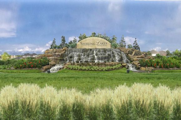 LGI Homes at Sterling Lakes:Sterling Lakes monument
