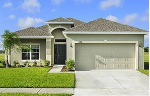 Cape Coral by LGI Homes:3, 4 and 5 bedroom homes with stunning curb appeal