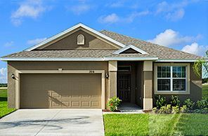 Cape Coral by LGI Homes:Beautiful stucco exterior