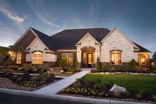 1 Terrata Homes Communities In San Antonio Tx Newhomesource