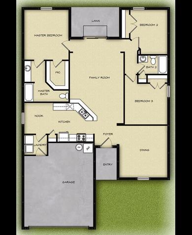 Lgi homes floor plans gurus floor for The villages house plans