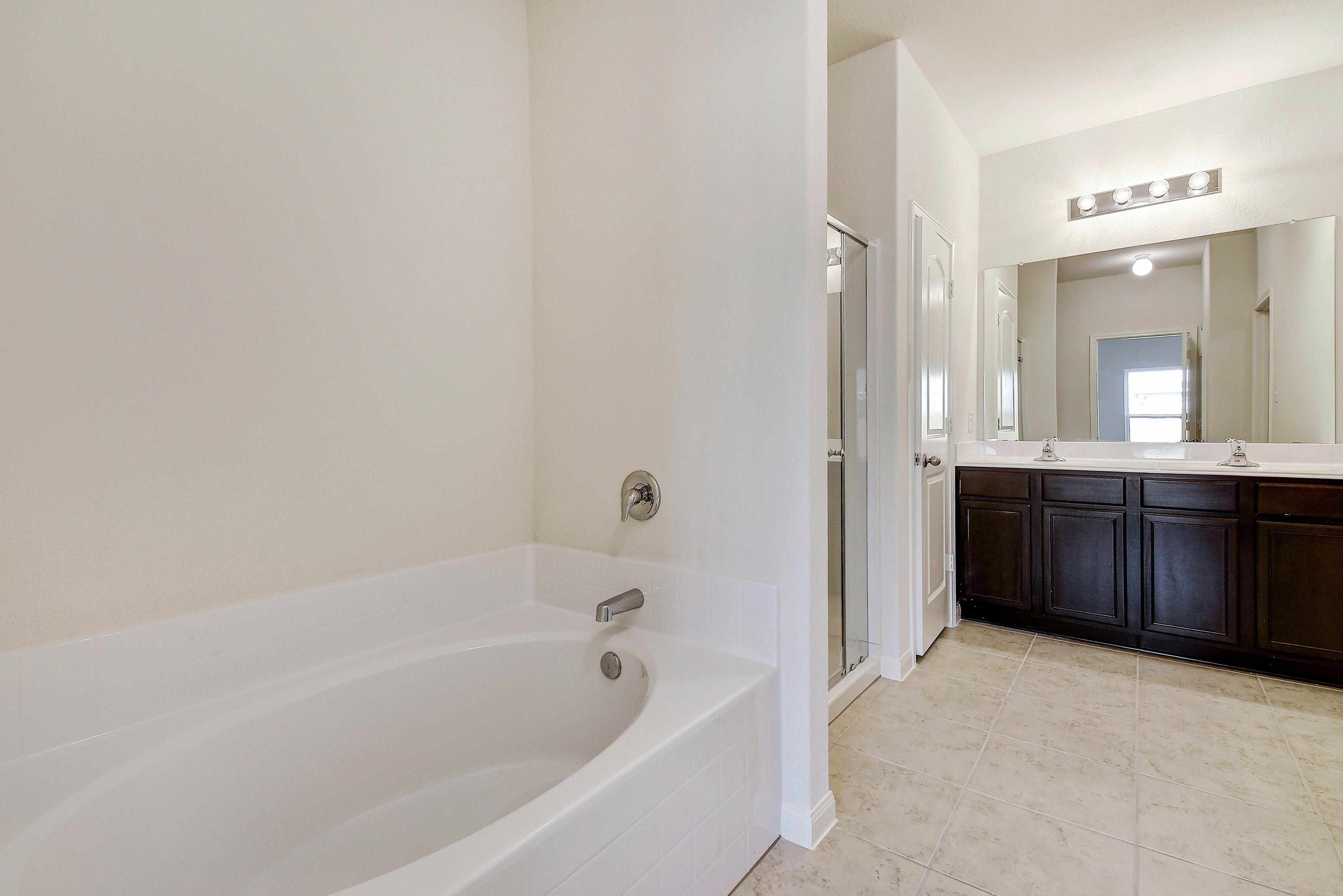 Bathroom featured in the Victoria By LGI Homes in San Antonio, TX