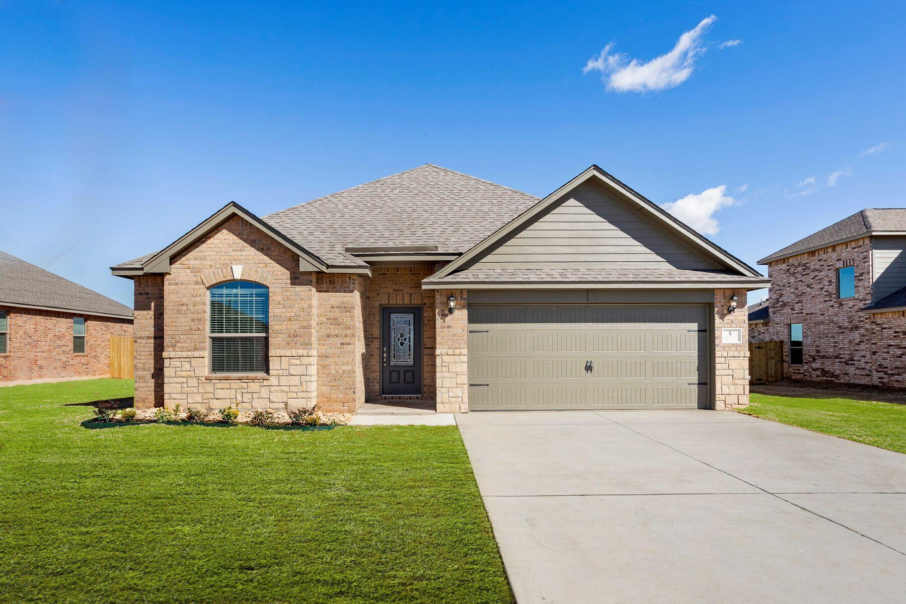 New Construction Homes Plans In Mustang Ok 1 640 Homes