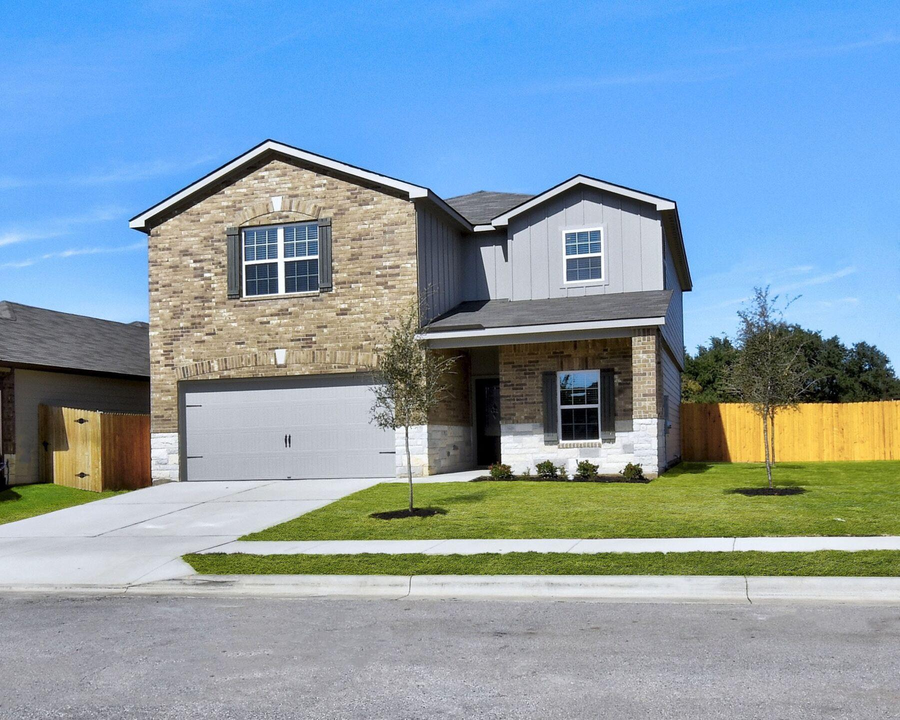 Exterior featured in the Victoria By LGI Homes in Austin, TX