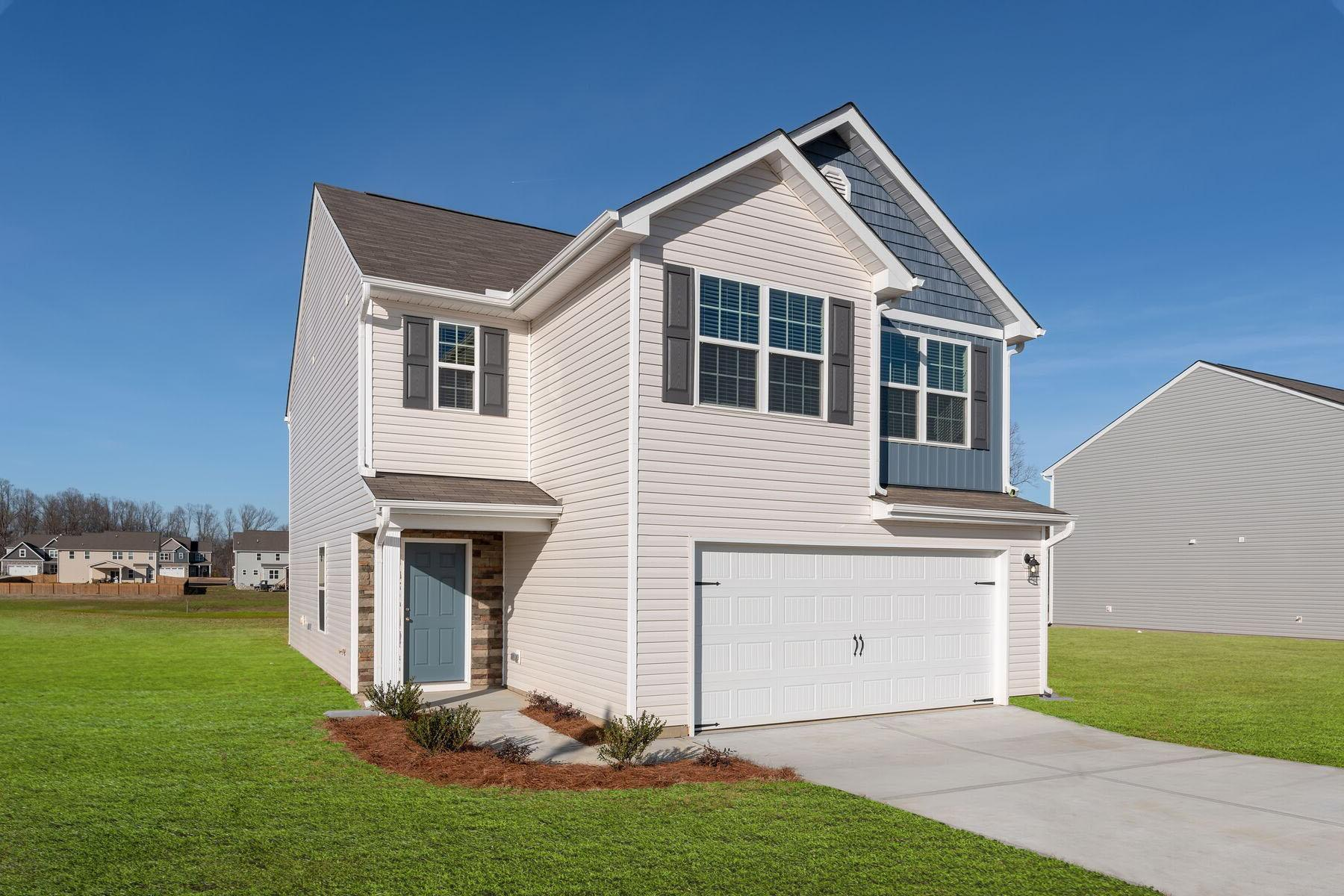 Exterior featured in the Burke By LGI Homes in Jacksonville, NC