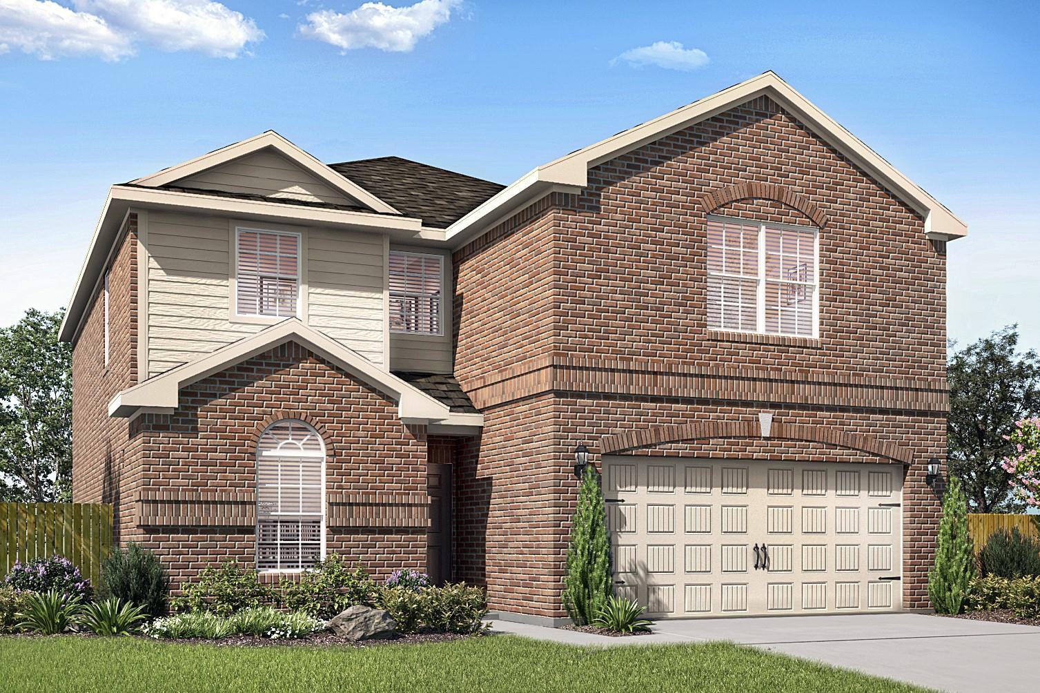 Exterior featured in the Driftwood By LGI Homes in Oklahoma City, OK