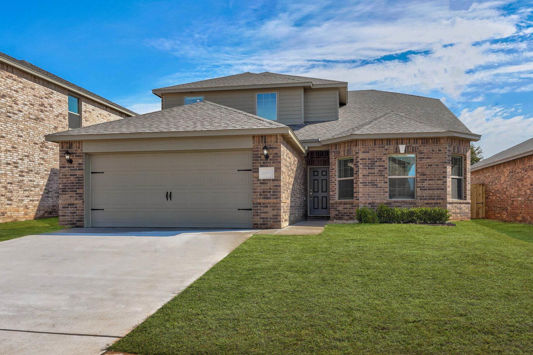 Exterior featured in the Cypress By LGI Homes in Oklahoma City, OK
