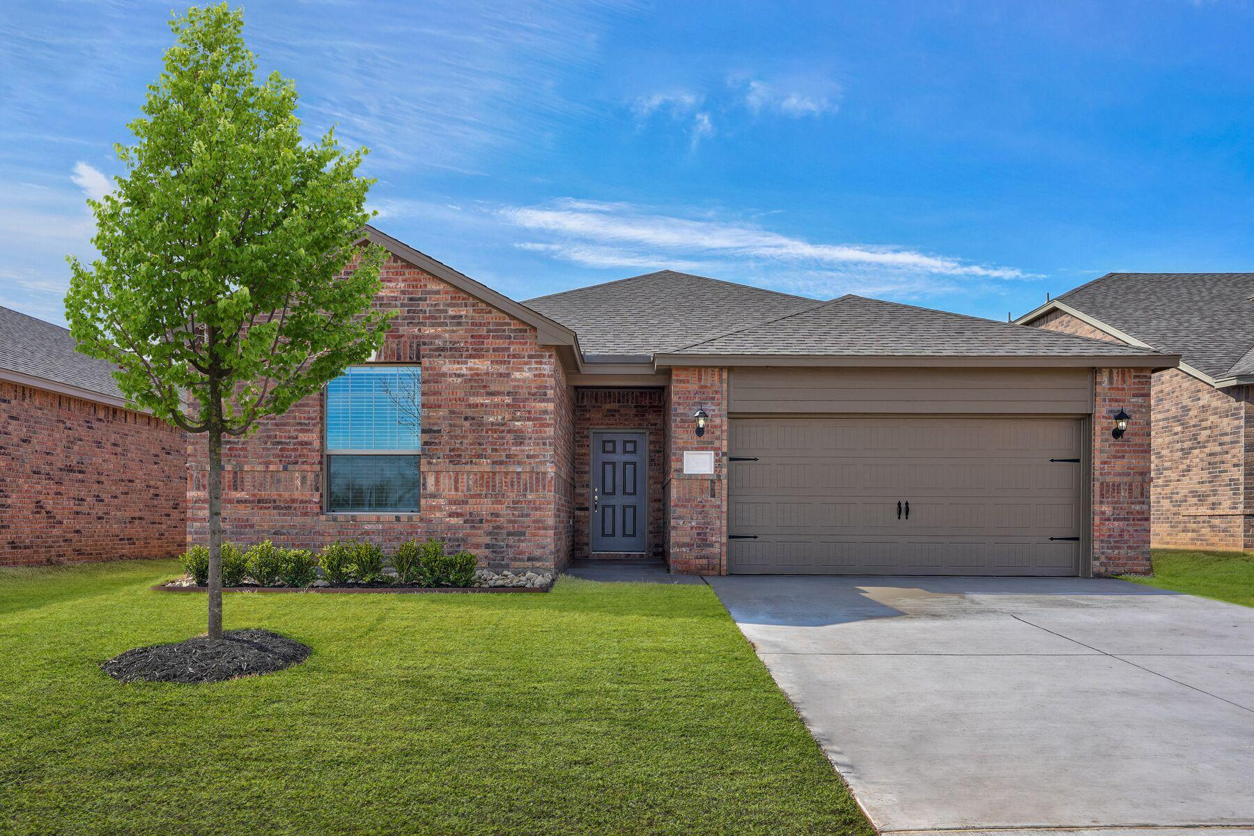 Exterior featured in the Sabine By LGI Homes in Oklahoma City, OK
