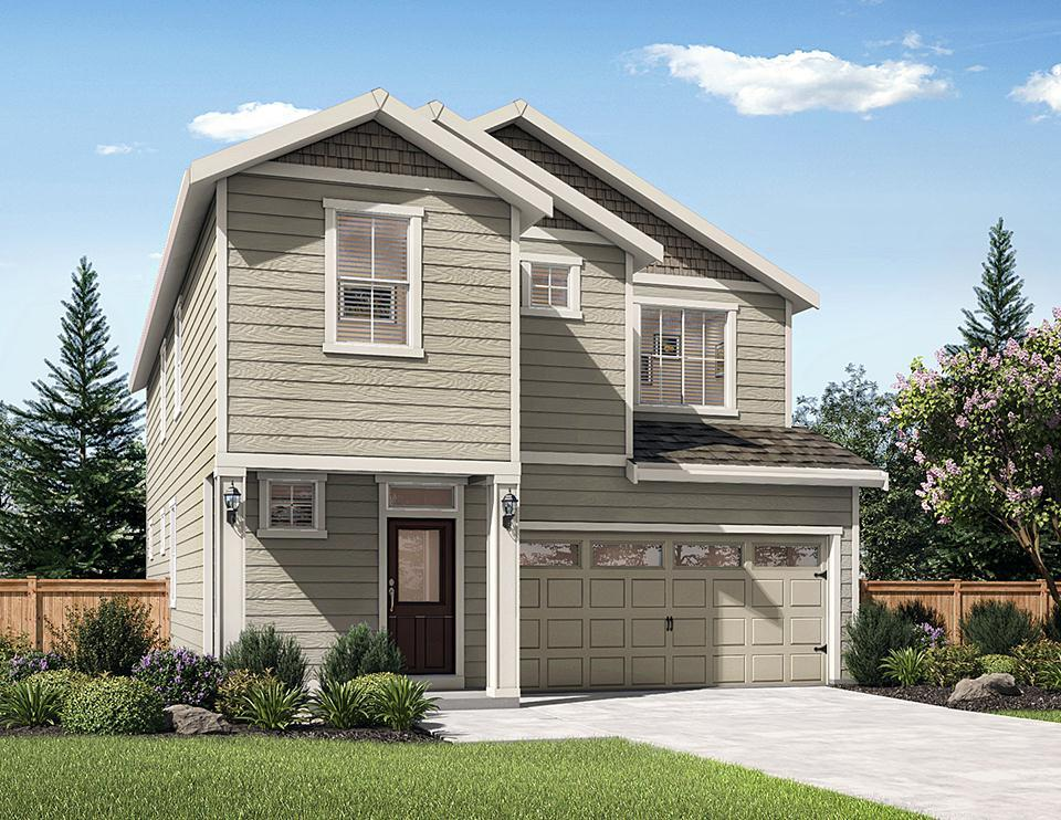 Exterior featured in the Larch By LGI Homes in Bremerton, WA