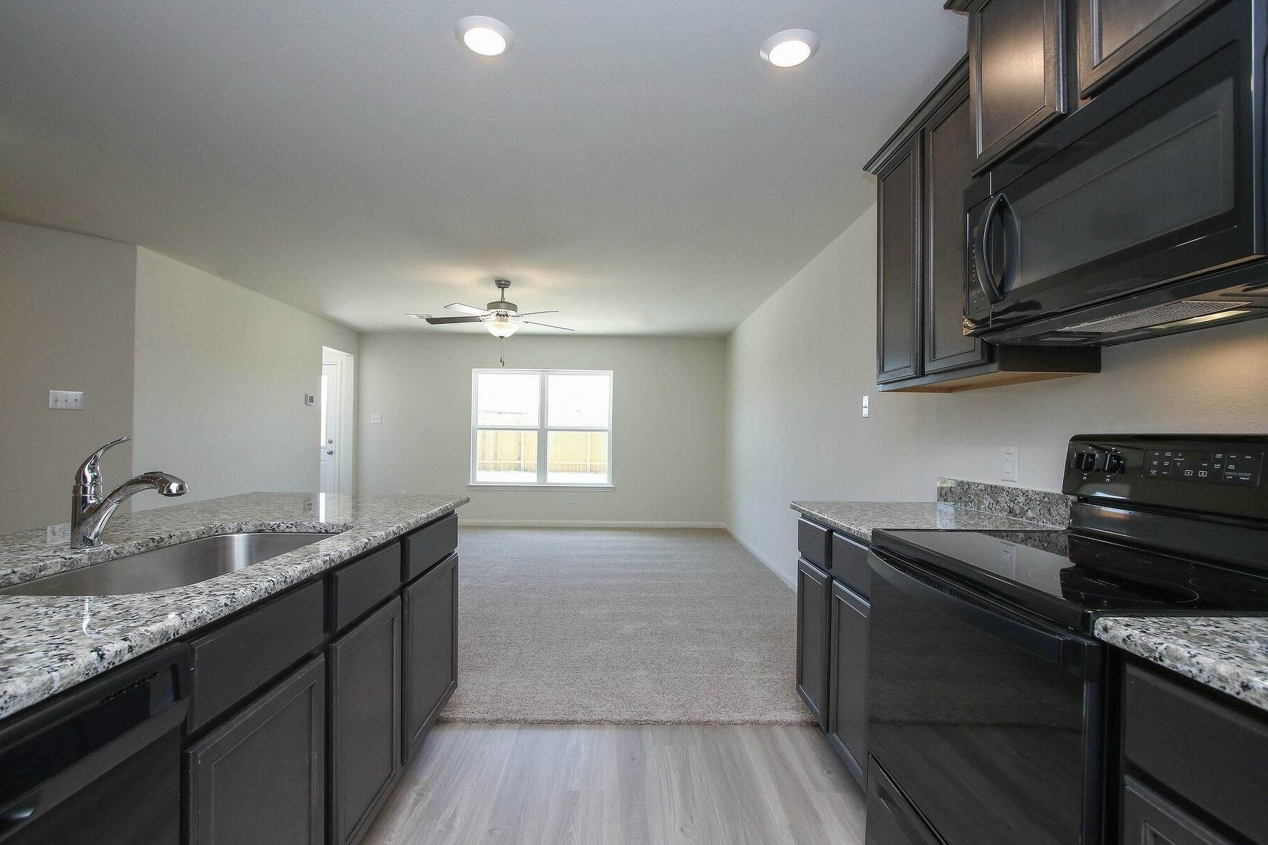 Kitchen featured in the Trinity By LGI Homes in Houston, TX