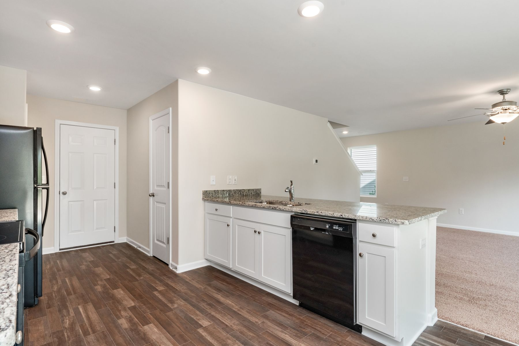 Kitchen featured in the Burke By LGI Homes in Jacksonville, NC