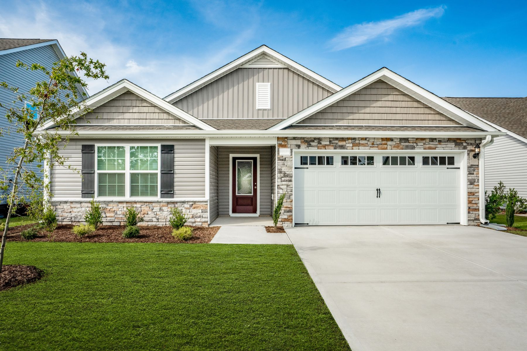 Exterior featured in the Burton By LGI Homes in Jacksonville, NC
