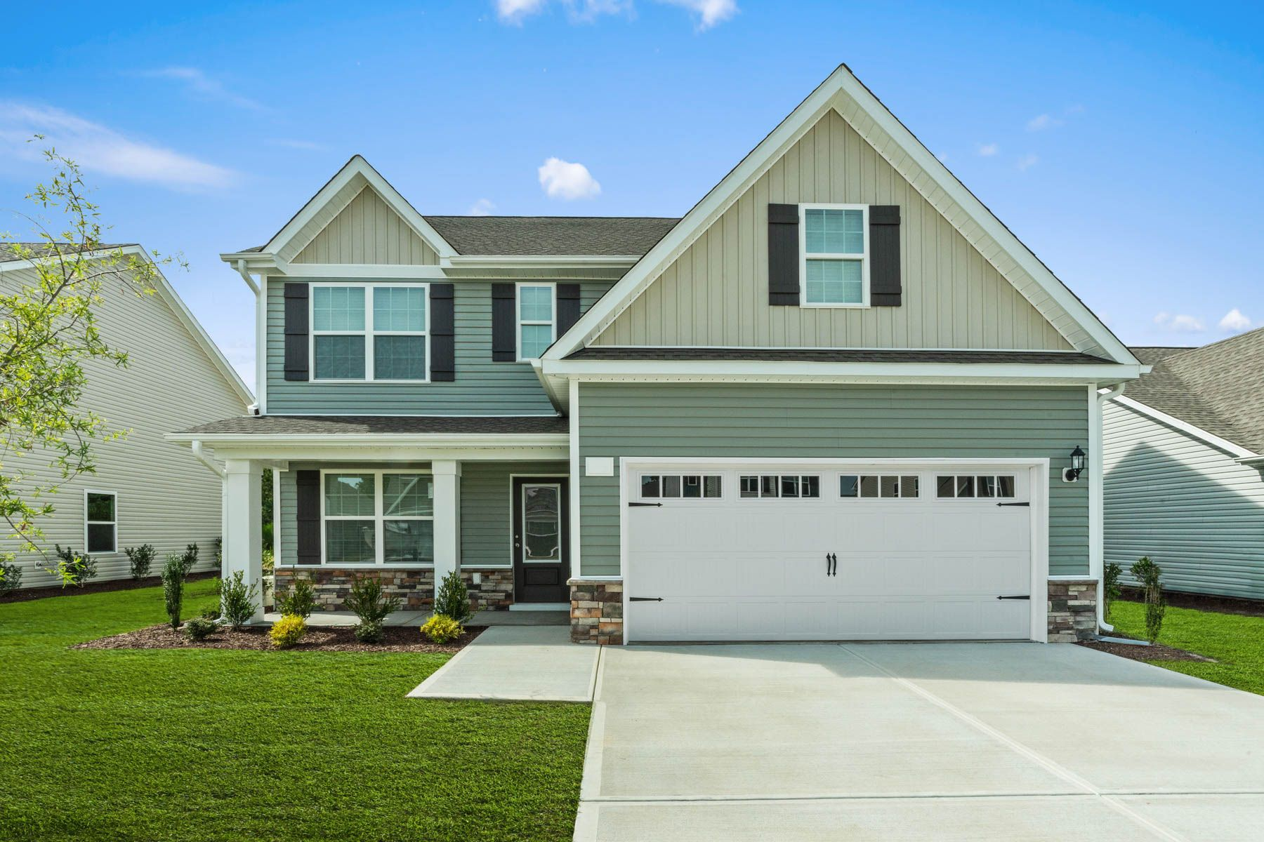 Exterior featured in the Hartford By LGI Homes in Jacksonville, NC