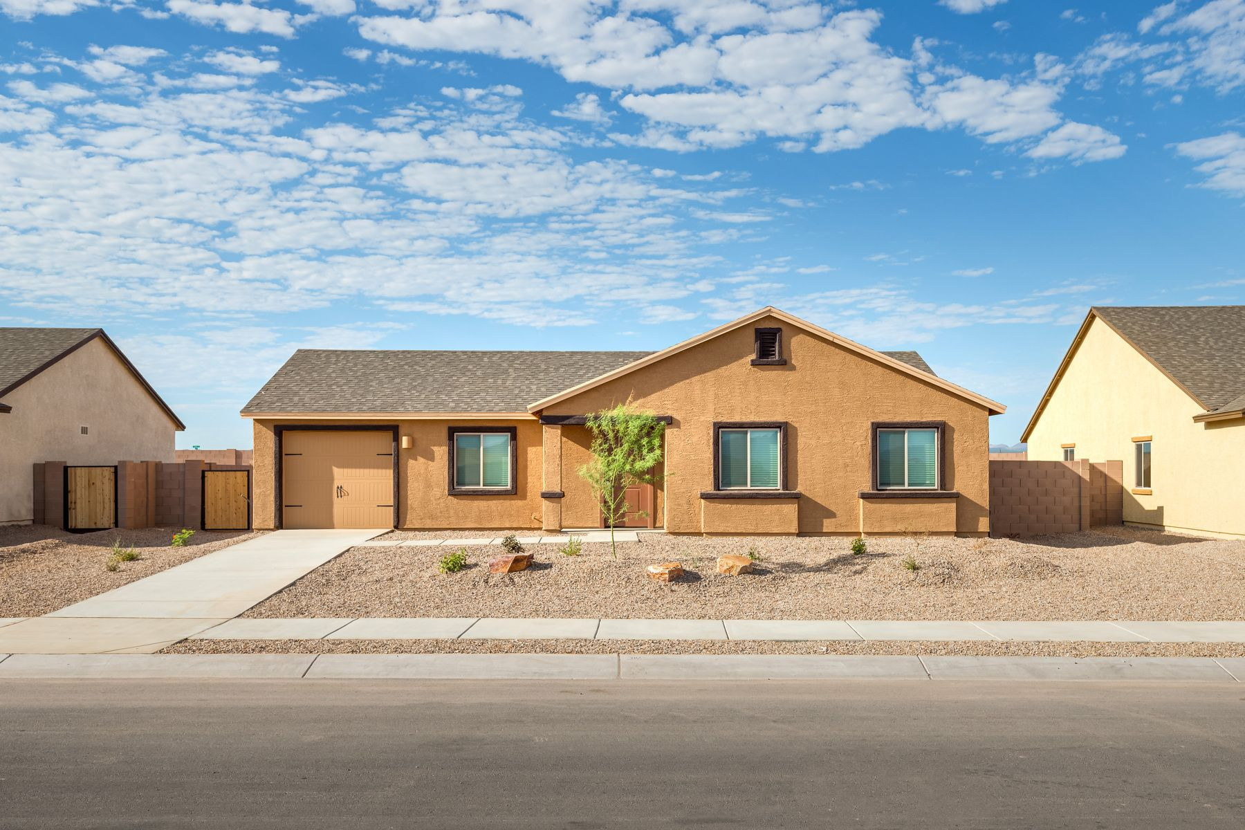 Exterior featured in the Alamo By LGI Homes in Tucson, AZ