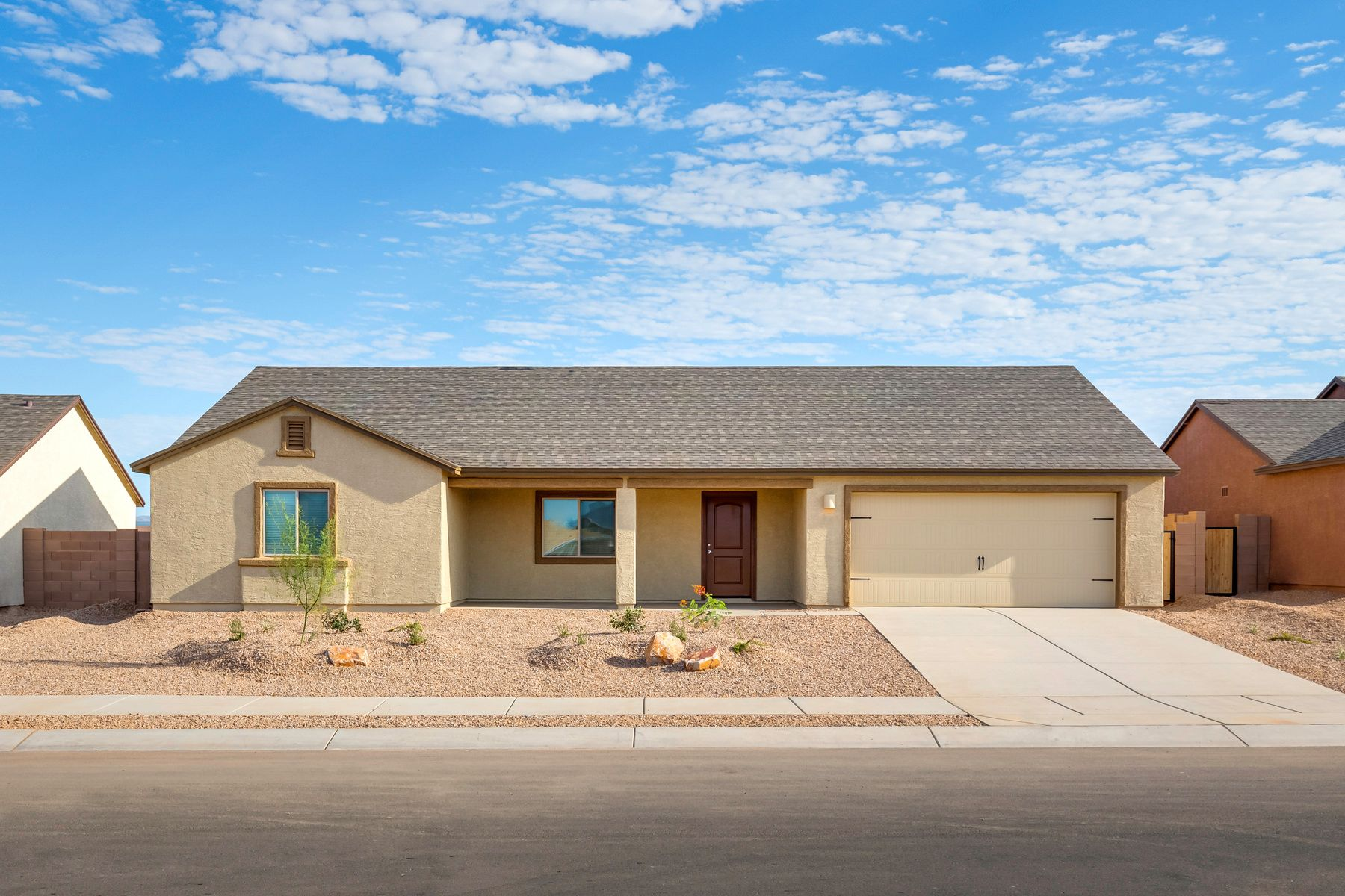 Exterior featured in the Luna By LGI Homes in Tucson, AZ