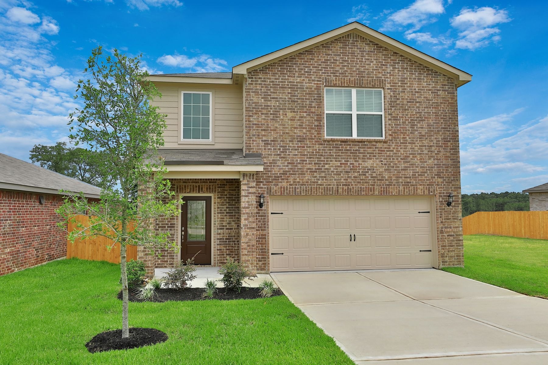 Exterior featured in the Rayburn By LGI Homes in Houston, TX
