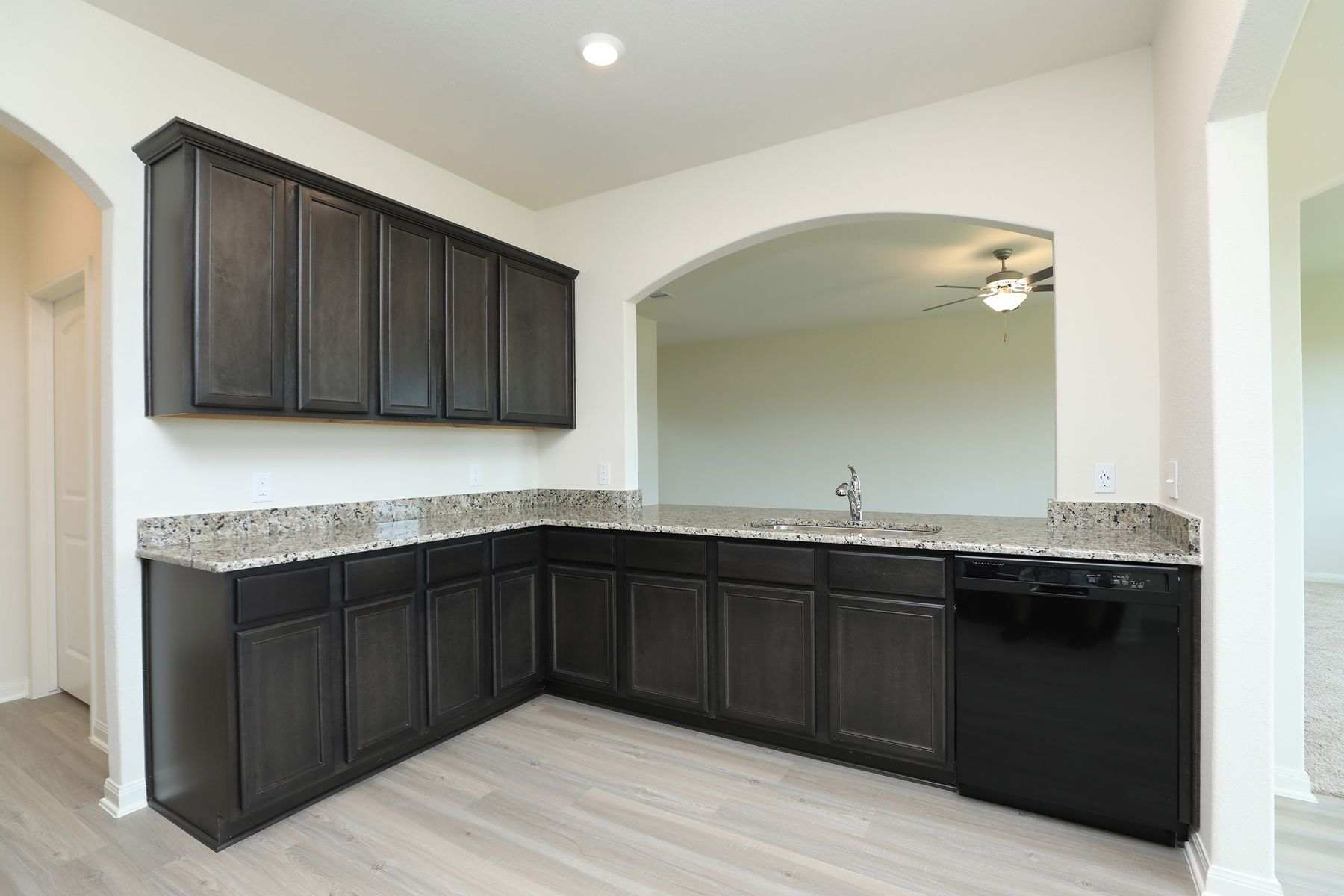 Kitchen featured in the Rayburn By LGI Homes in Houston, TX