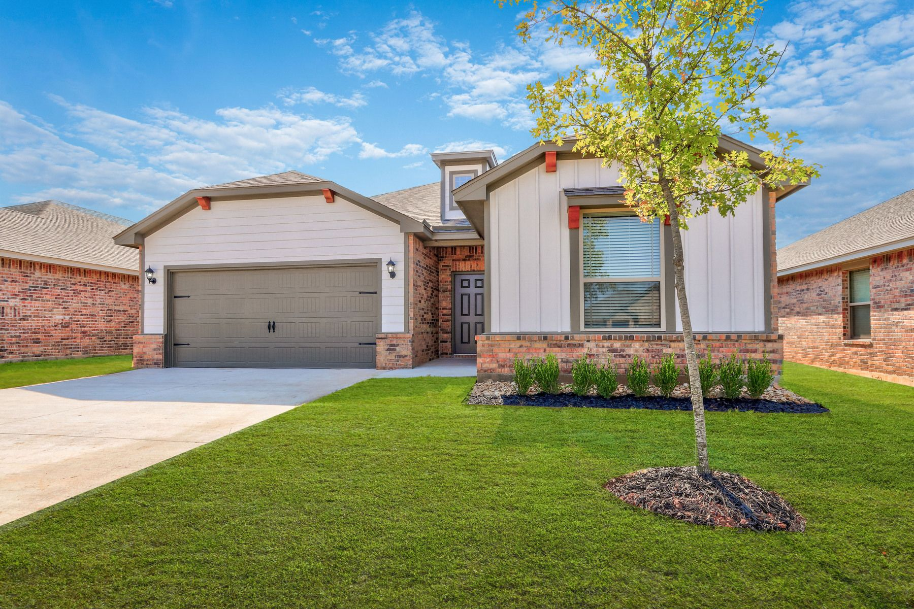Exterior featured in the Asher By LGI Homes in Oklahoma City, OK