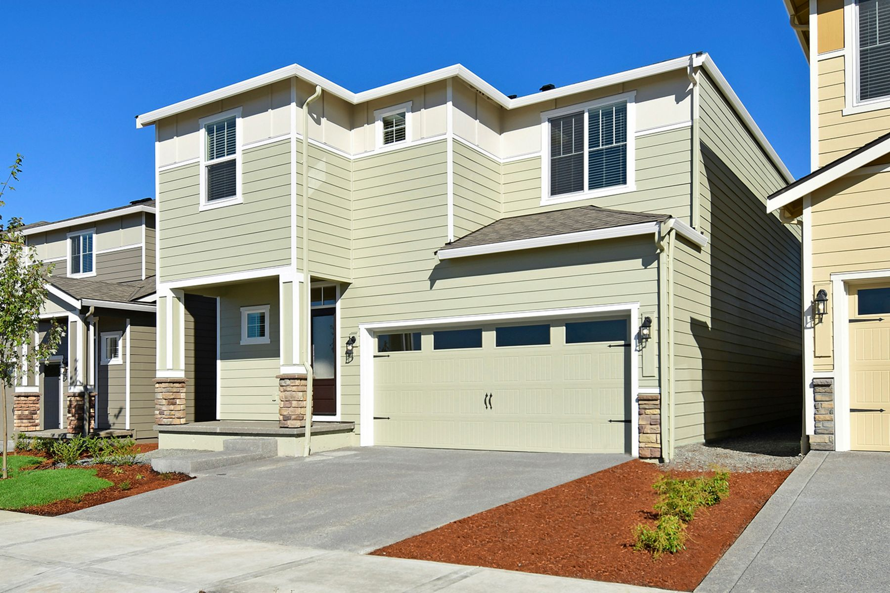 Exterior featured in the Juniper By LGI Homes in Portland-Vancouver, WA