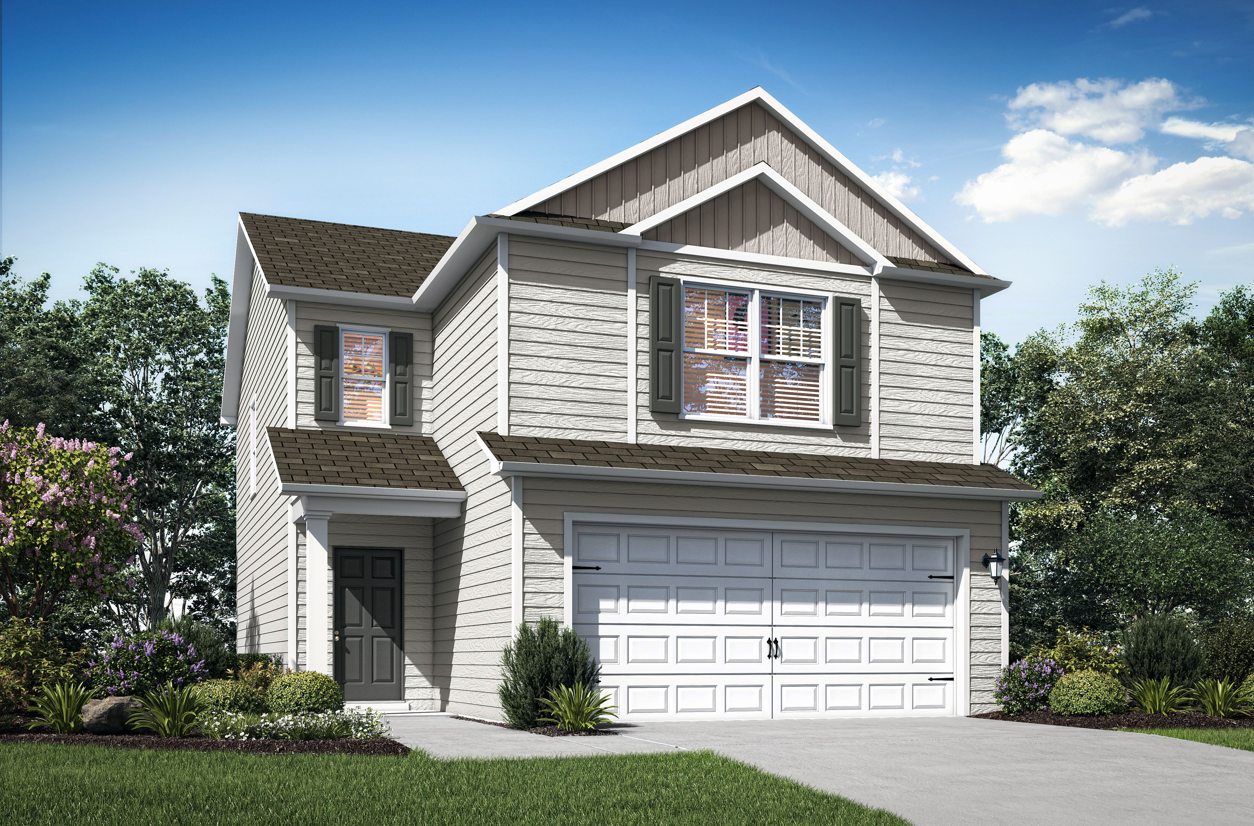 Exterior featured in the Charleston By LGI Homes in Birmingham, AL